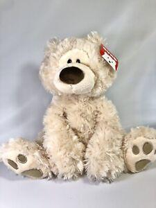 """GUND 12"""" Cream Philbin Teddy Bear PLUSH New With Tags Soft Cuddly Stuffed Animal"""