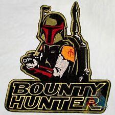 Boba Fett Bounty Hunter Embroidered Big Patch Star Wars Back 9'' Darth Vader
