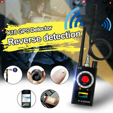 K18 Wireless RF Detector Signal Jam Camera GSM Audio Bug Finder GPS Scan I5Y2