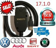 17.1 2017 NEW RELEASE FOR VCDS VAG COM HEX CAN DIAGNOSTIC TOOL FITS AUDI VW FULL