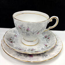 Vintage ROYAL TUSCAN Fashion Rose Tea Trio England