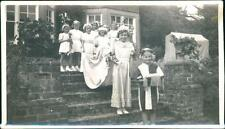 Children Ladies costume fancy dress groups Photographs B. Thompson QP1886