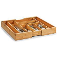 Bambus Besteckkasten ausziehbar 40 50 60 Besteck Einsatz Holz Schublade