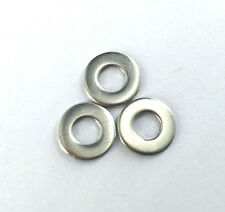 100pcs M4 Flat Washers Stainless Steel  [SN-A]