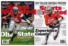 New Lot 2 JT Barrett Ohio State Buckeyes Sports Illustrated 2016 2017 No Label
