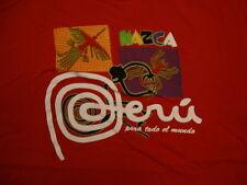 Nazca Peru Para Todo El Mundo For the Whole World Souvenir Red T Shirt M