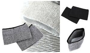 Pair of Elastic Seamless Rib Knit Cuffs Jacket Sweatshirt Joggers Trimming Trim