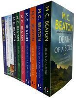 Hamish Macbeth Murder Mystery Series 1 and 2 M.C. Beaton 10 Books Collection Set