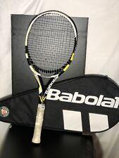 "Babolat Aero Storm Tour Cortex GT 98 Tennis Racquet 4 3/8"" W/carrying Case"