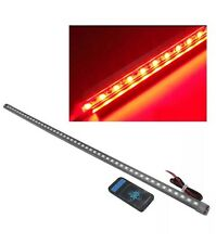 48 LED 5050 Waterproof Flash Car Knight Rider Strip Lights SMD W/Remte Red UK
