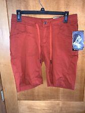 NWT Black Diamond Women's Credo Shorts - Burnt Sienna - size 8 - retail $79