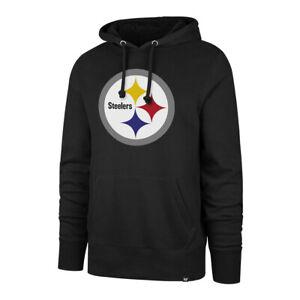 Men's Pittsburgh Steelers Imprint Headline Team Colour Logo Pullover NFL Hoodie