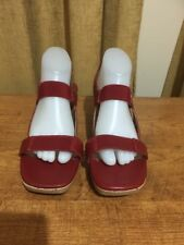 Women's Soft Leather/ Elastic Shoes By Filippo Raphael, New, Size 42