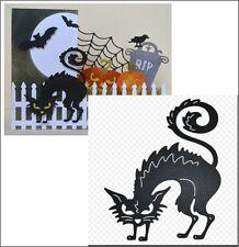 Horrible Cat metal die - Cheery Lynn cutting dies B495 animals,cats,Halloween