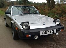 Fiat's X1/9 Bertone VS Edition, Leather, Electric windows