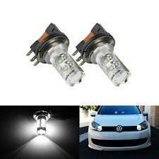 2 H15 50W Xenon feux éclairage diurnes LED Audi Q7 A3 A5 VW Golf Caddy Ford