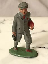 VINTAGE BARCLAY LEAD FIGURE BUSINESS MAN WALKING