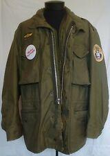 M-65 Field Jacket OG-107 Olive X-Large/ Regular Dated 1970 w/ Liner TAXI DRIVER!