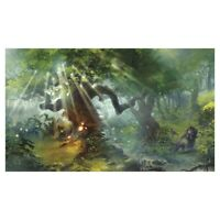 Play Mat Lands Forest Rubber Backed Durable Detailed Legion Supplies