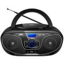 JVC Portable CD Player with Bluetooth - Black (RD-N327A)