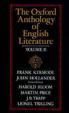 The Oxford Anthology of English Literature Volume II: 1800 to the-ExLibrary