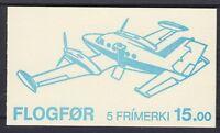 Färöer MH 3 ** Markenheftchen Flugzeuge, postfrisch, Booklet, MNH