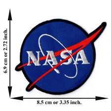 Nasa Sign Space Symbol Discovery Vector V09 Logo Applique Iron on Patch Sew
