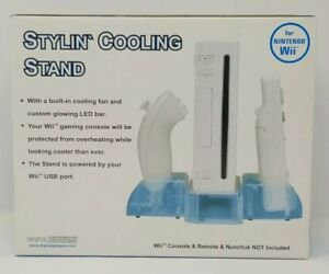USB Powered LED Cooling Stand for Nintendo Wii