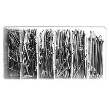 555 pcs Cotter Pin Assortment with Case Container
