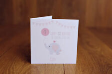 Birthday, Child Animals Unbranded Hand-Made Cards