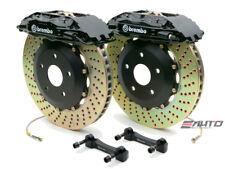 Brembo Front GT Big Brake 4Pot Black 332x32 Drill Disc for WRX STi Legacy 2.5i