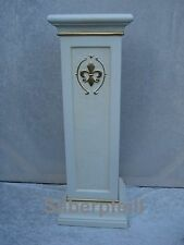 Säule Säulen Stuckgips Dekosäule Blumensäule Podest Tisch Lilie Möbel 1064 C-G
