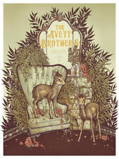 The Avett Brothers 6/11/2016 Poster Minneapolis MN Signed & Numbered #/200