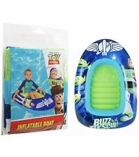 "NEW OFFICIAL DISNEY TOY STORY ""BUZZ TO THE RESCUE""CHARACTER INFLATABLE POOL BOAT"