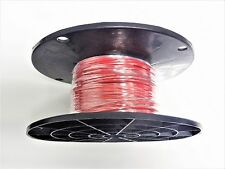 16 GAUGE WIRE RED 250' ON A SPOOL PRIMARY AWG STRANDED COPPER POWER GROUND  MTW