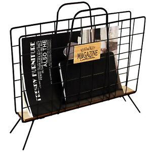 Zeitschriftenhalter 42x10xH37cm Zeitschriftenständer Zeitungsablage Zeitungskorb