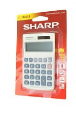 SHARP EL-240SAB BASIC 8 DIGIT CALCULATOR SOLAR POWERED EL240SAB NEW QUALITY