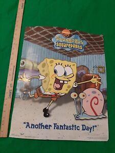 Spongebob Squarepants Fantastic Day 2002 Poster 22x34 Vintage VTG