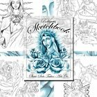 RELIGIOUS SKETCHBOOK by Steve Soto 30 pages Tattoo Design Sketch Flash Book