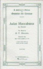 Handel GIUDA maccabaeus VOCAL SCORE cantare VOCAL Choral VOCE MUSICA LIBRO