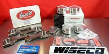 SCAT H Beam Rods 65670187 Wiseco Pistons K563M815 VW Audi 1.8t JETTA GOLF A3 A4