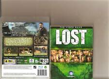 LOST THE VIDEO GAME PLAYSTATION 3 PS3 BASED ON SHOW