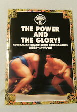 Australian Grand Sumo Tournaments Booklet - 1997