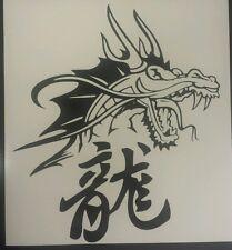 Chinese Dragon - Black revs- Car,Van,Window,Laptop,Vinyl graphics/sticker/Decal