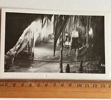 Vintage Photo Postcard  Tatiana's Palace Hasting Caves Tasmania Australia