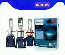 Kit Lampadine Philips Ultinon Led 6000 H8 H10 H11 Anabbagliante Abbagliante