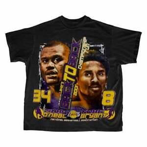 Los Angeles Lakers Kobe T-Shirt Vintage Gift For Men Women Funny Black Tee