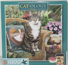 MasterPieces 1000 Piece Jigsaw Puzzle Catology HEMINGWAY Cat Geoffrey Tristram