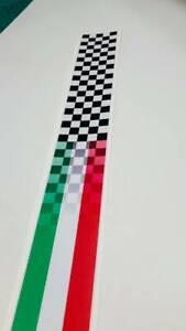 Italian Style Scooter Stripes Vespa Vinyl Stickers Decal Bike lambretta #a000012