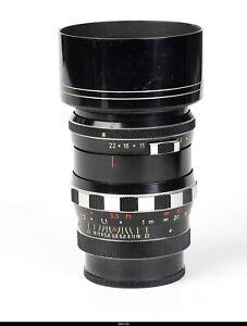 Lens Schneider Zebra  Tele Xenar  3,5/90mm No.5496307 for Pentax M42
